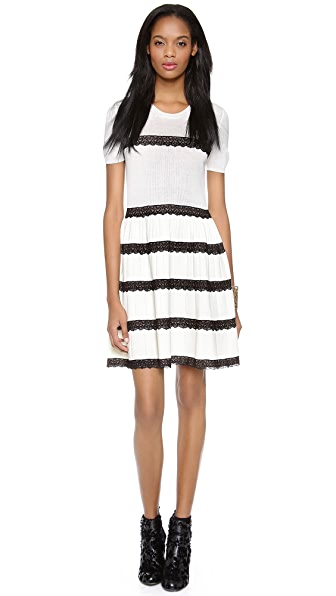 RED Valentino Lace Ribbon Dress
