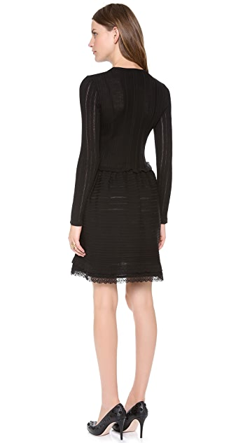 RED Valentino Lace Insert Dress