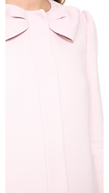 RED Valentino Bow Neck Coat