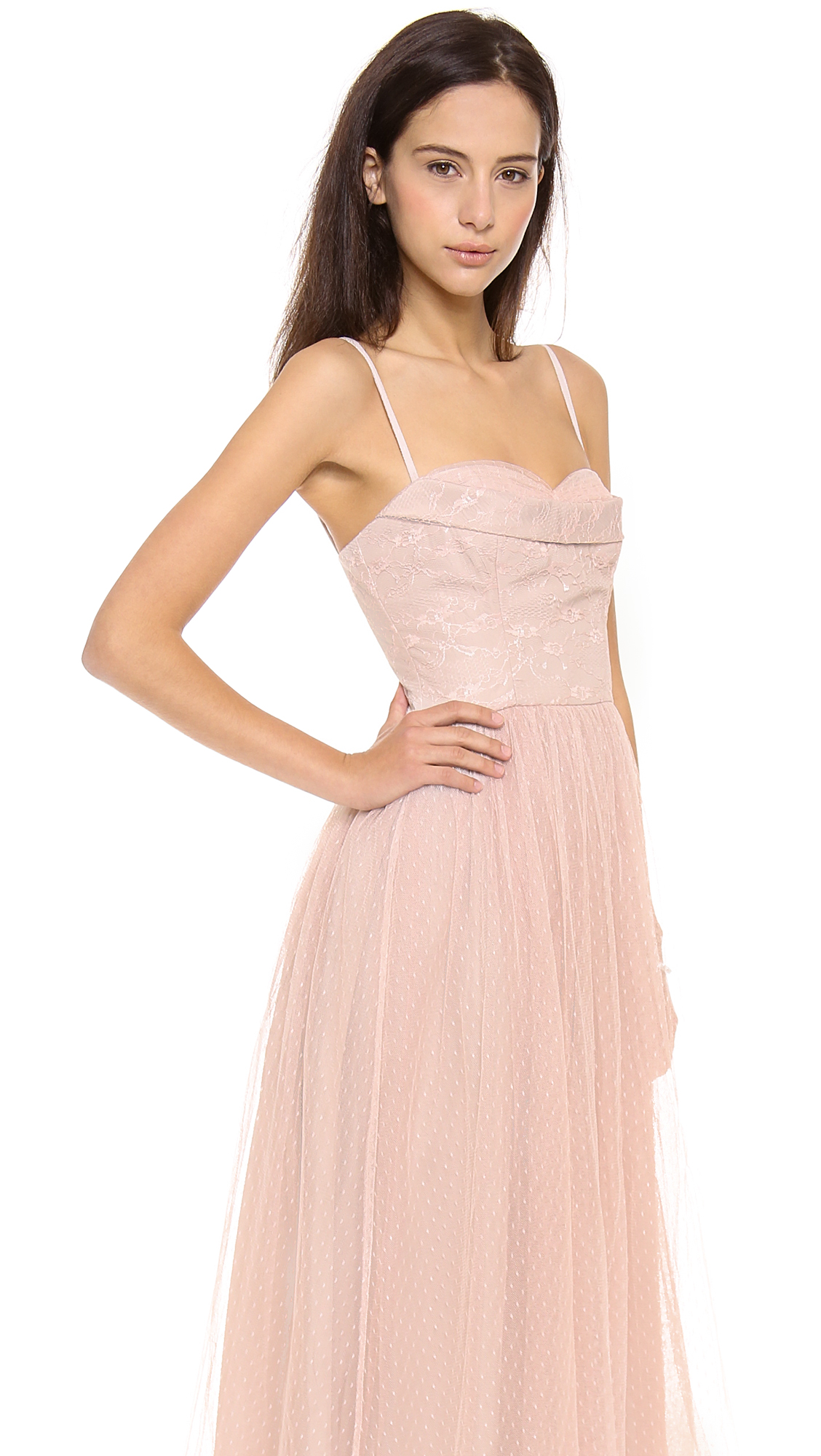 RED Valentino Lace Bustier Gown | SHOPBOP
