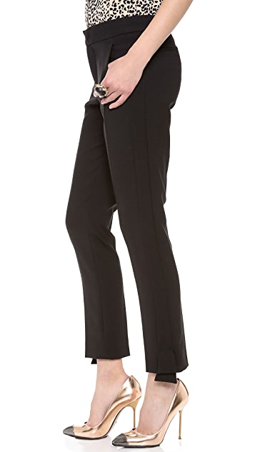 RED Valentino Cady Tech Tuxedo Trousers