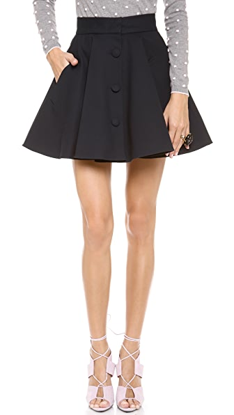 RED Valentino Flare Skirt