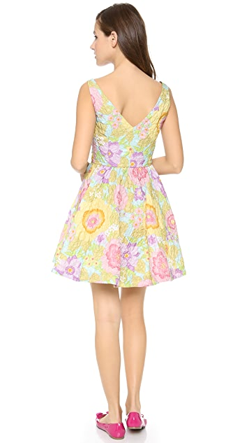 RED Valentino Pop Flowers Print Dress