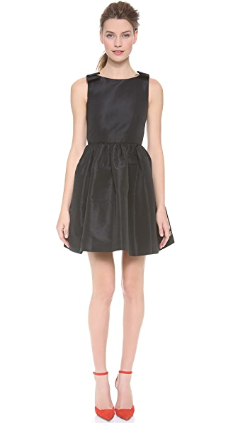 RED Valentino Faille Dress