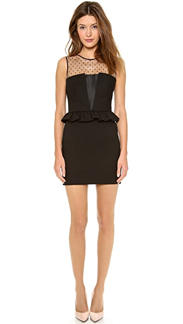 RED Valentino Peplum Dress