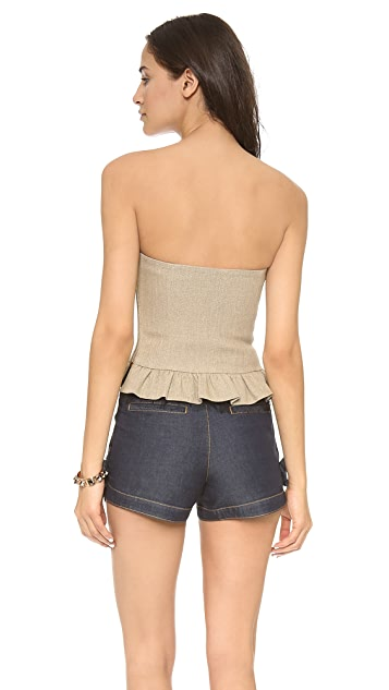 RED Valentino Bustier Top