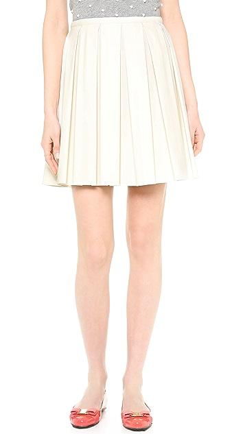 RED Valentino Pleated Skirt