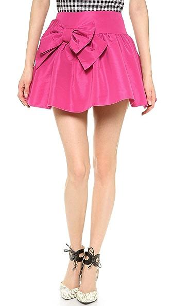 RED Valentino Bow Skirt