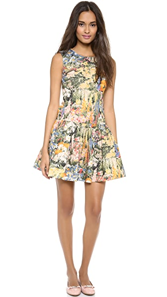 RED Valentino Wildflower Dress