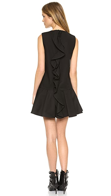 RED Valentino Ruffle Back Dress