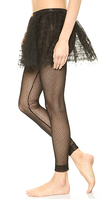RED Valentino Point d'Espirit Tights