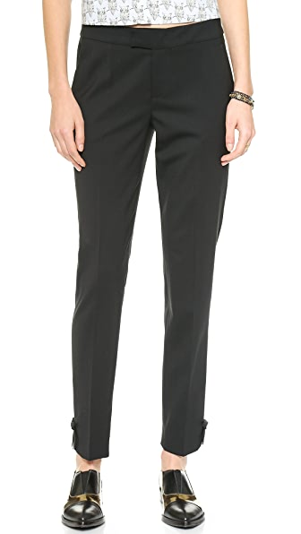RED Valentino Cropped Bow Pants