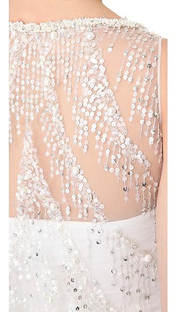 Reem Acra Sunset Boulevard Gown