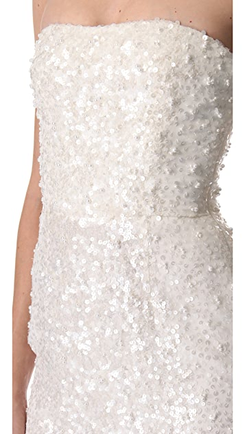 Reem Acra Mini Glamour Dress