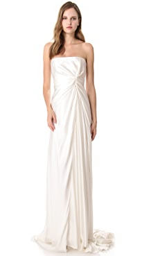 Reem Acra Lady Slipper Gown