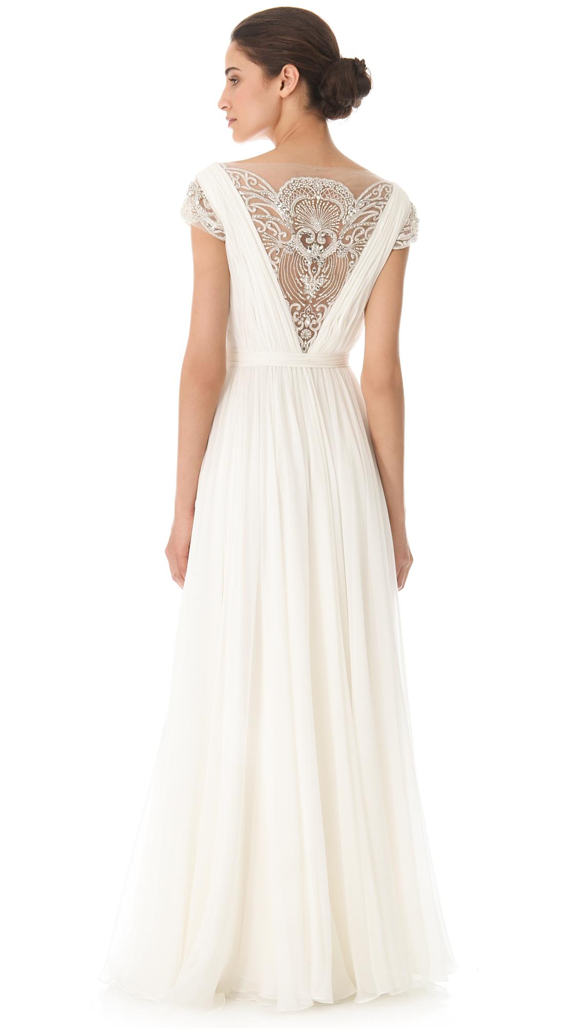 Reem Acra Goddess Gown   SHOPBOP