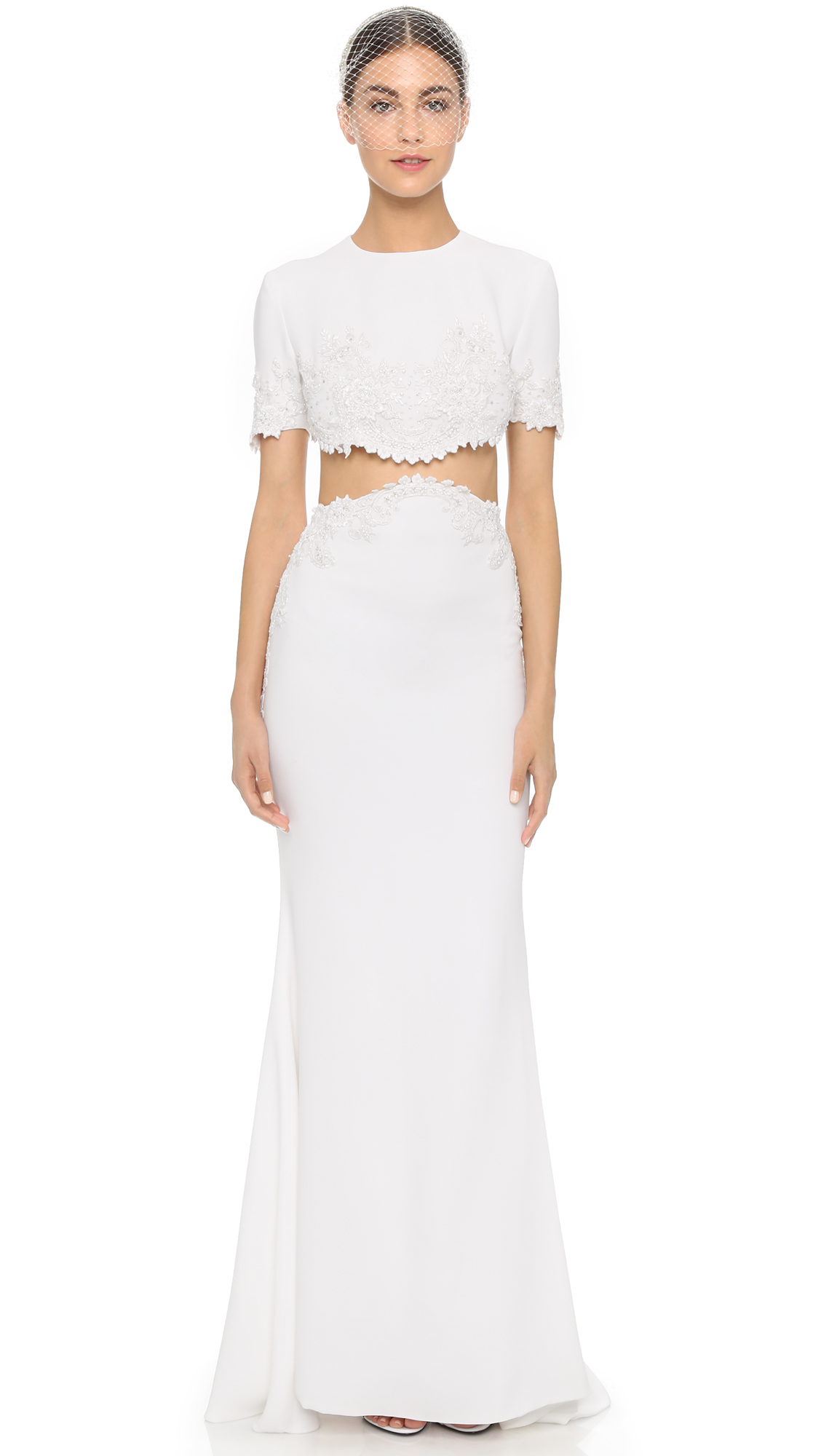 458fdf7f477 Reem Acra I'm Chic Two Piece Gown | SHOPBOP