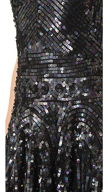 Renzo + Kai Sequin Tank Dress