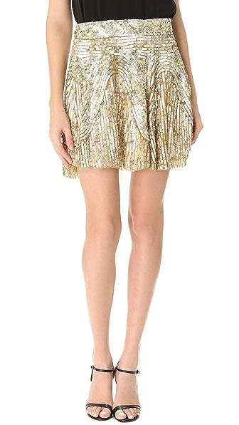 Renzo + Kai Sequin Miniskirt