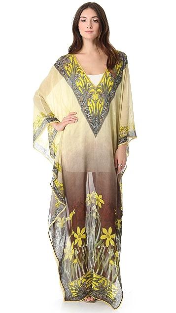 Renzo + Kai Floral Caftan Maxi Dress