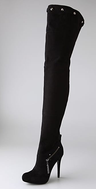 Report Signature Kane Thigh High Boots