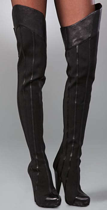 Report Signature Steinway Over the Knee Boots