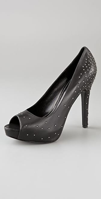 Report Signature Kay Studded Platform Pumps