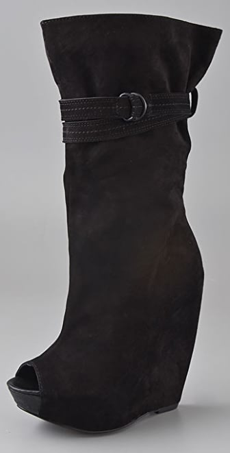 Report Signature Pearsall Suede Wedge Boots