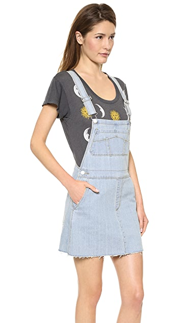 RES Denim Gertie Pinafore Overall Dress