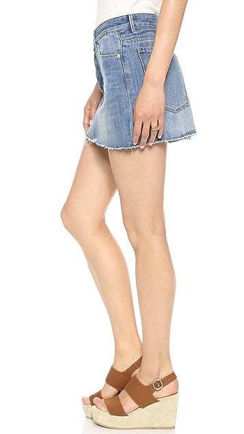 RES Denim Miss World Miniskirt