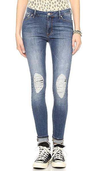 RES Denim Kitty Skinny Distressed Jeans