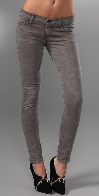 Resin Lariat Super Skinny Jeans