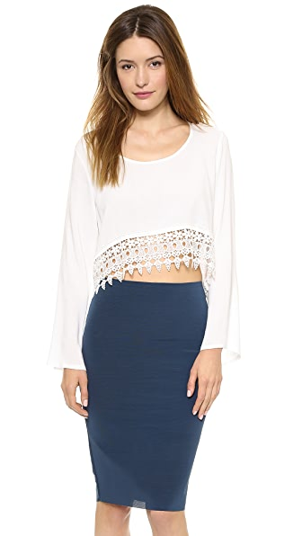 Reverse Hippy Crop Top