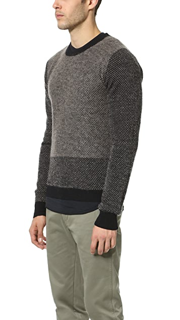 Robert Geller Gustav Knit Crew Neck Sweater