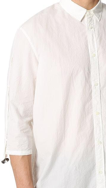 Robert Geller The Adjustable Sleeve Shirt