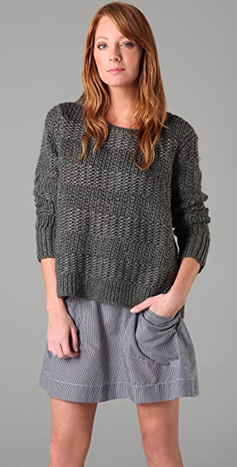 Rag & Bone/JEAN The Chunky Pullover Sweater