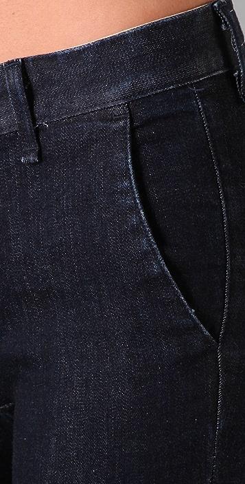 Rag & Bone/JEAN Heritage Cropped Skinny Jeans