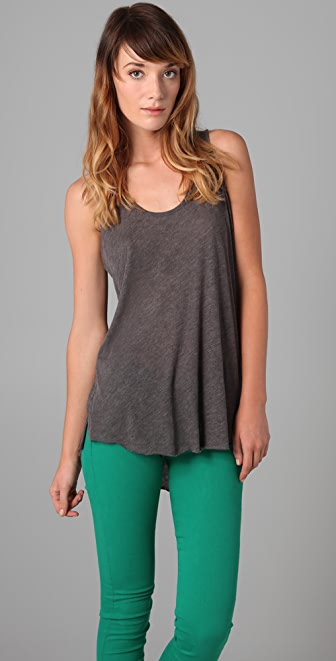 Rag & Bone/JEAN Twist Back Tank