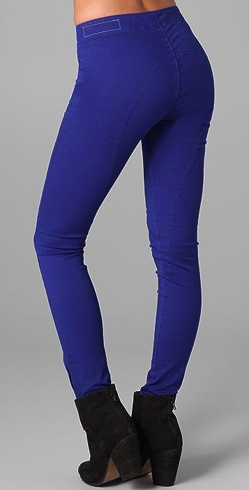 Rag & Bone/JEAN Zipper Skinny Jeans