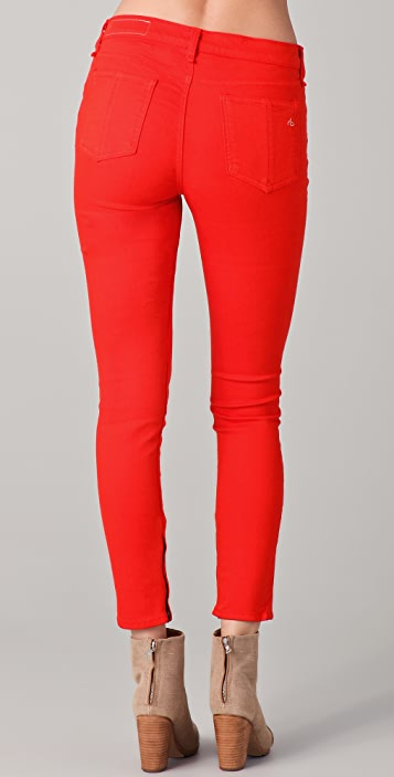 Rag & Bone/JEAN The Zipper Capri Jeans