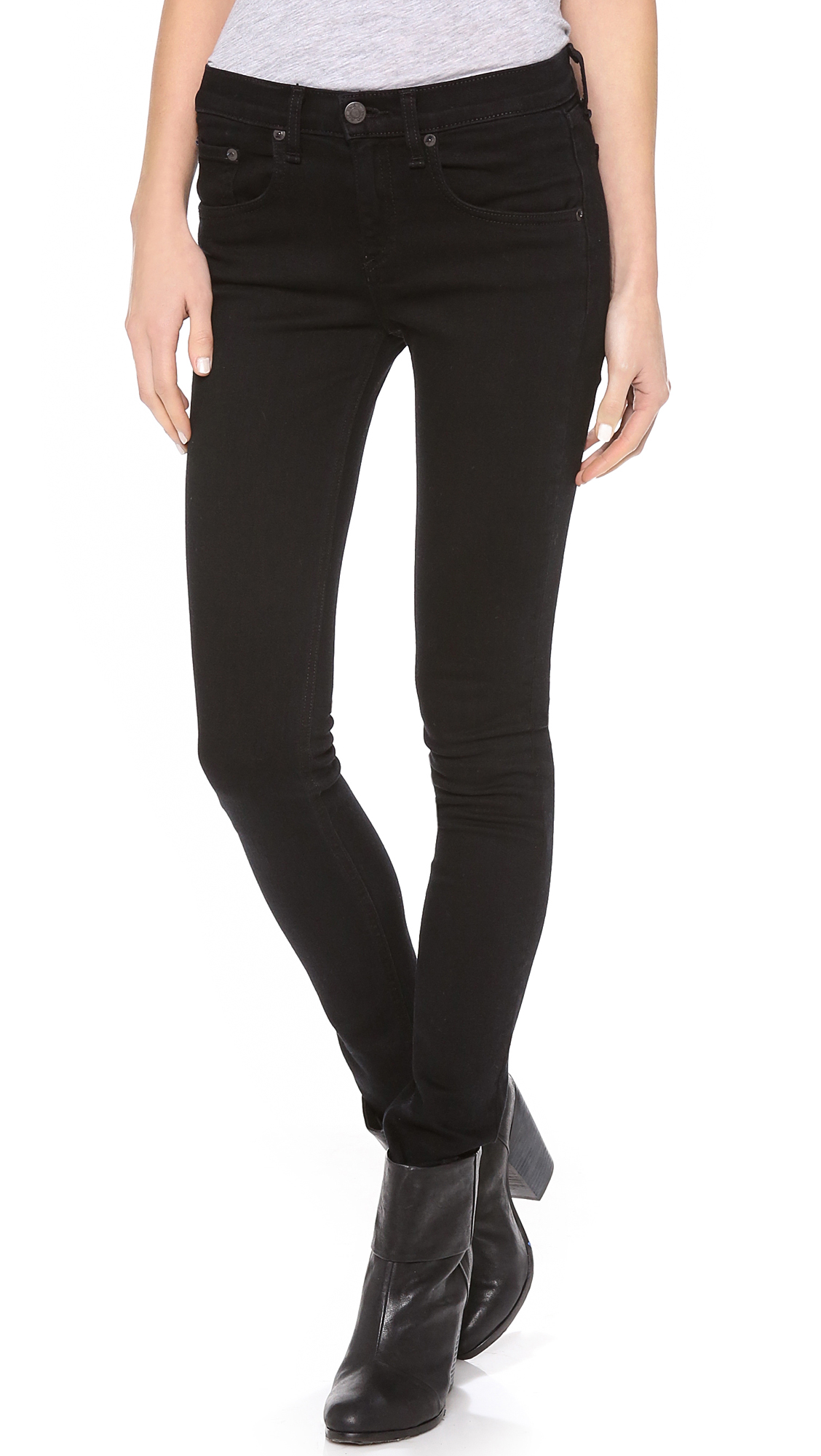 Rag & Bone/JEAN High Rise Skinny Jeans | SHOPBOP Extra 25% Off ...