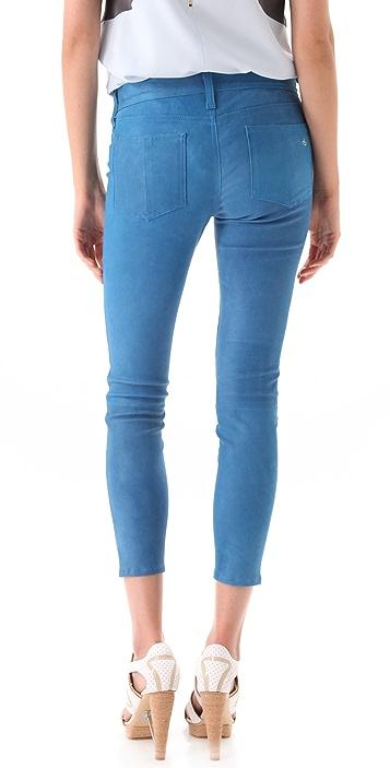 Rag & Bone/JEAN Leather Capri Pants