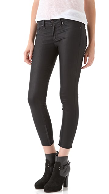 Rag & Bone/JEAN Zipper Legging Jeans