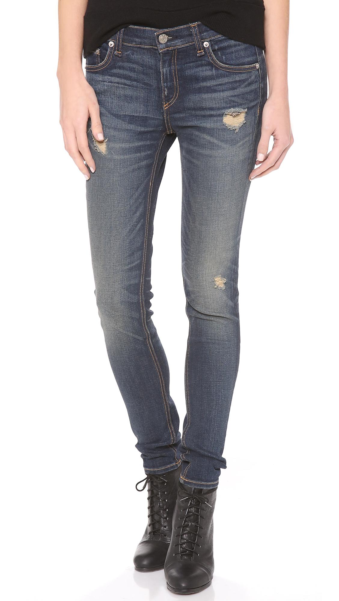 Rag & Bone/JEAN Slouchy Skinny Jeans | SHOPBOP