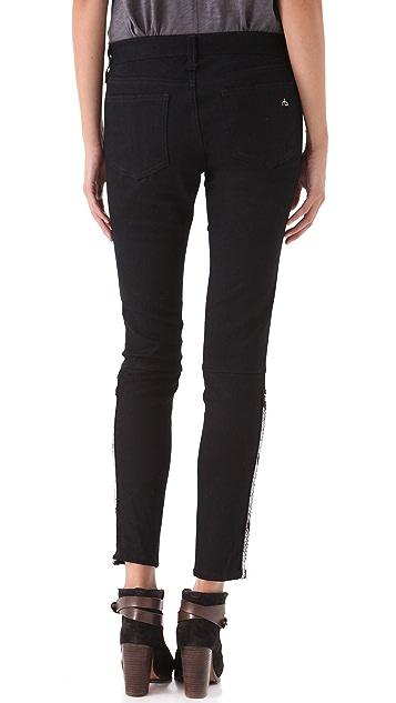 Rag & Bone/JEAN Embroidered Devi Jeans