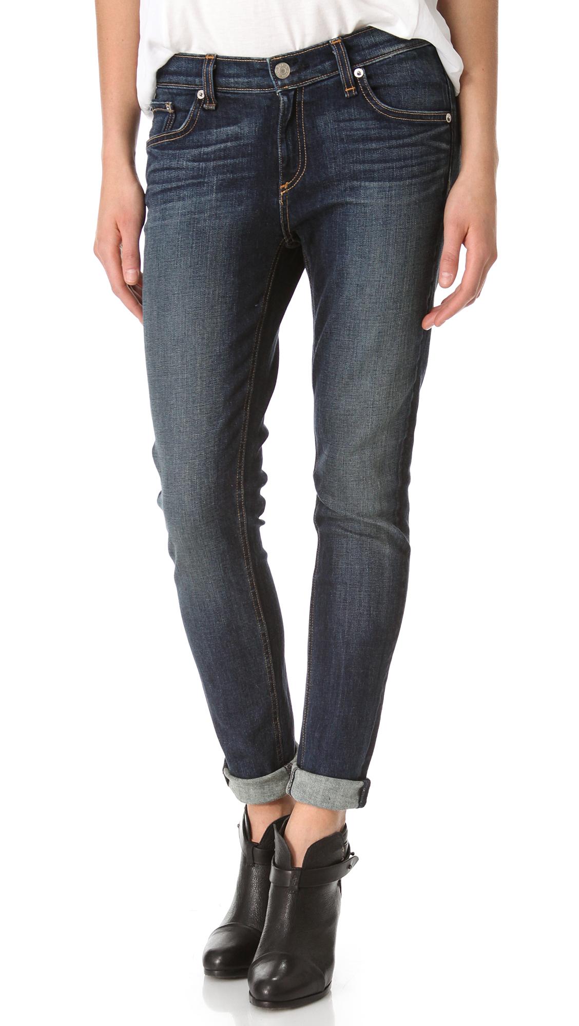 Rag & Bone/JEAN Dash Slouchy Skinny Jeans | SHOPBOP