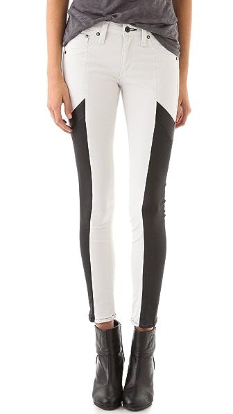 Rag & Bone/JEAN Grand Pix Motocross Legging Jeans
