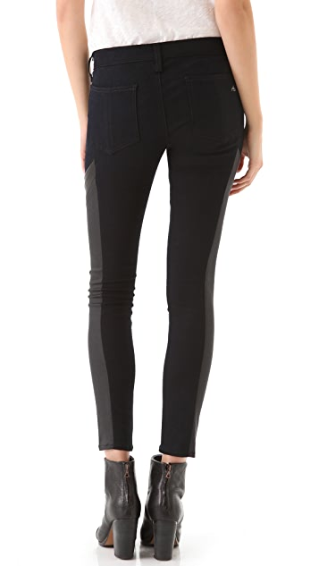 Rag & Bone/JEAN Grand Prix Motocross Legging Jeans