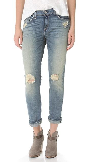 Rag & Bone/JEAN The Dash Slouchy Skinny Jeans