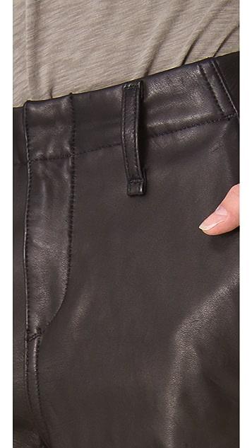 Rag & Bone/JEAN Leather Pajama Pants